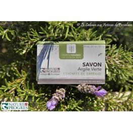 Savon bio Argile Verte Essences de Garrigue
